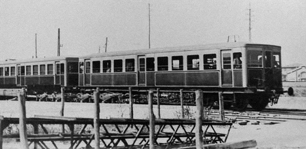 Quando i treni erano viola e giallo.