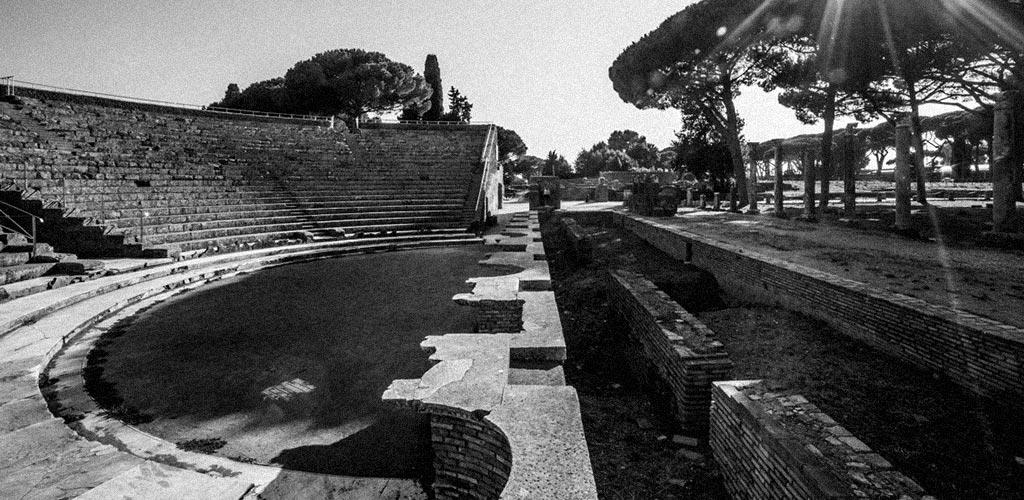 Teatro Romano - Ostia Antica.